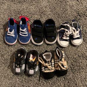 Designer Baby boy shoes lot